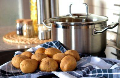 gotowanie ziemniaków