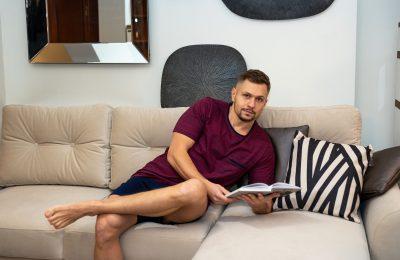 Bawełniana piżama męska